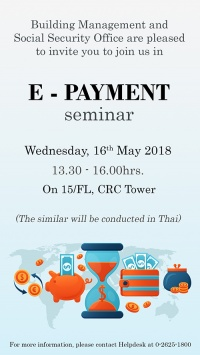 E-payment seminar by SSO